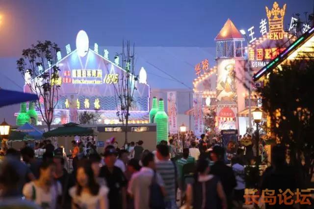 2018年青岛啤酒节主会场金沙滩啤酒城十大亮点
